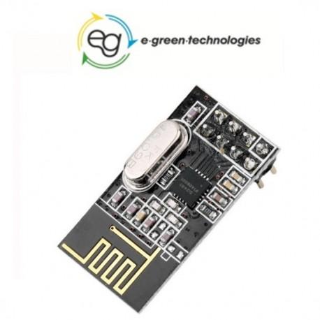 MODULO RADIO WIFI 2.4GHz nRF24L01 trasmissione dati telemetria Arduino
