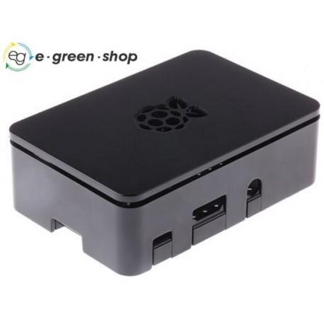 CONTENITORE PER RASPBERRY Pi 2 B, Raspberry Pi 3 B, Raspberry Pi B+, nero RS Pro