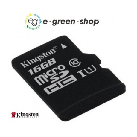 MICRO SD 16GB KINGSTON