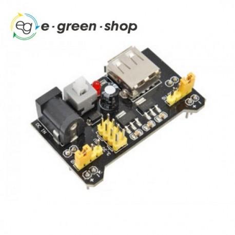 MODULO ALIMENTAZIONE BREADBOARD 3.3V 5V USB - ARDUINO