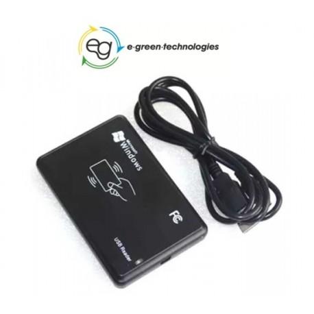 LETTORE RFID ESTERNO DI PROSSIMITA' CON CAVO USB - RFID CARD READER