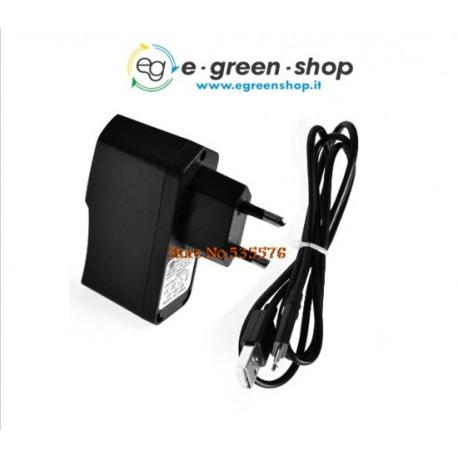ALIMENTATORE PER RASPBERRY 5V - 2A - CON CAVO USB