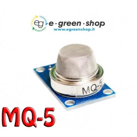 SENSORE GAS - MQ-5 GPL E GAS DI CITTA'