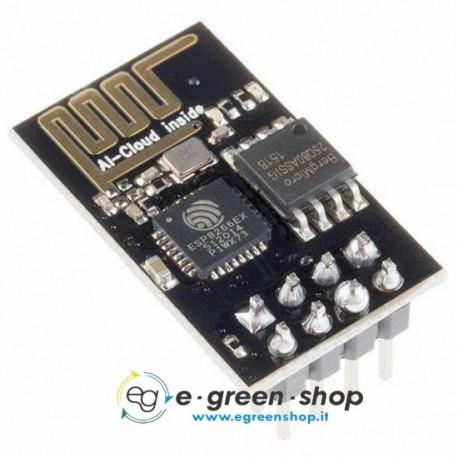 ESP-01 MODULO WiFi ESP8266 - transceiver module arduino