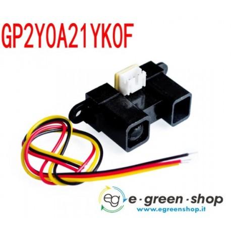 SENSORE DI DISTANZA AD INFRAROSSI - SHARP GP2Y0A21YK0F - Infrared distance sensor ARDUINO