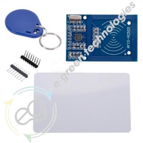 SET SCHEDA RFID CON MFRC-522 + CARD + PORTACHIAVI