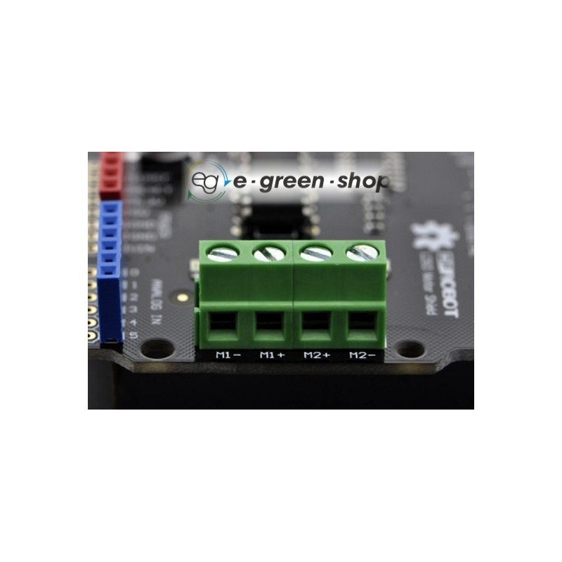 DFRobot DRI0001-2x1A DC Motor Shield for Arduino